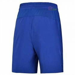 【LI-NING】李寧AAPM027-1經典彈性款羽球男短褲海軍藍