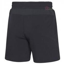 【LI-NING】李寧AAPM027-2經典彈性款羽球男短褲黑