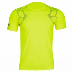 【LI-NING】李寧ATSJ067-1專業羽球比賽排汗潮T螢光綠(男款)