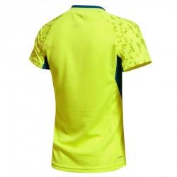 【LI-NING】李寧AAYK052-2專業羽球比賽服螢黃(女款)
