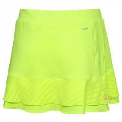 【LI-NING】李寧ASKL012-2吸濕排汗螢光黃比賽級褲裙