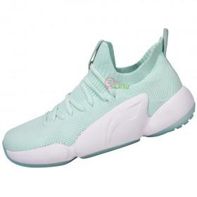 【LI-NING】NEXT LIFE-2青果綠 全新襪套設計絕佳包覆訓練級羽球鞋女款