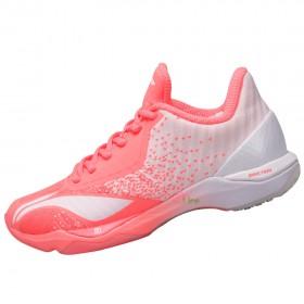 【LI-NING】突襲-3粉白 主推款穩定緩震比賽級羽球鞋女款