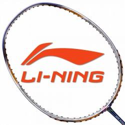 【LI-NING】3D CALIBAR-200藍金 4U攻擊防守30磅力量型羽球拍