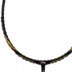 【LI-NING】風動Aeronaut 4000黑金 4U風洞30磅速度型羽球拍