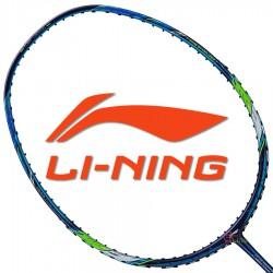 【LI-NING】風動Aeronaut 7000藍綠 4U張楠速度型羽球拍