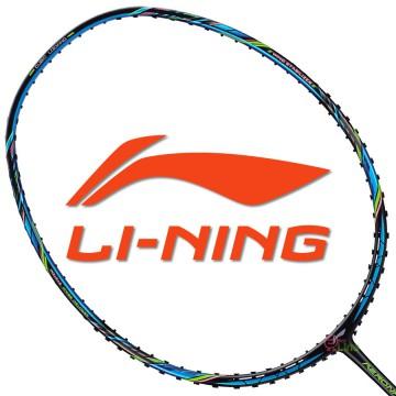 【LI-NING】Aeronaut-7000B黑藍 3U劉雨辰32磅均衡型羽球拍