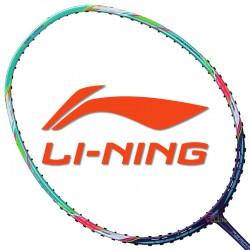【LI-NING】Aeronaut-7000I青紫 5U黃雅瓊32磅輕量型羽球拍