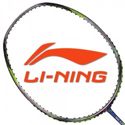 【LI-NING】3D CALIBAR-800藍綠 3U陳雨菲32磅N80II力量型羽球拍