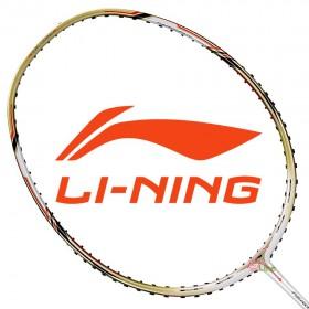 【LI-NING】風動9000白 3U石宇奇均衡型羽球拍