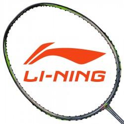 【LI-NING】風刃3D CALIBAR 900C綠灰 3U劉成重扣攻擊力量型羽球拍