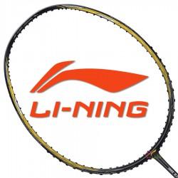【LI-NING】3D CALIBAR-900I黑金 5U納西爾32磅N90IV輕量型羽球拍