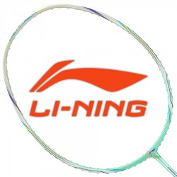 【LI-NING】HC-1900青綠 軟中管好操控耐高磅羽球拍