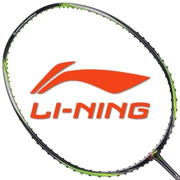 【LI-NING】TC-20D消光黑綠 4U中管偏軟30磅速度型羽球拍