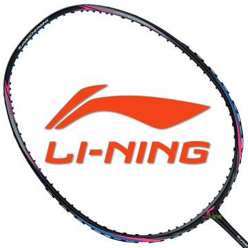 【LI-NING】TC-20黑藍 3U中管偏軟30磅N9II-TF均衡型羽球拍