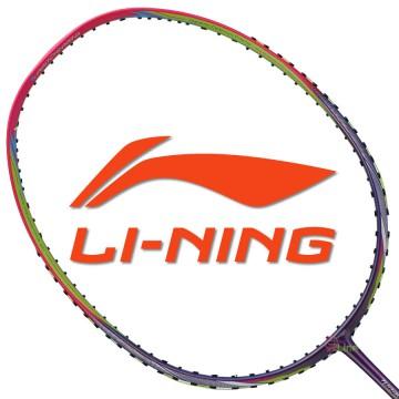【LI-NING】TC-70B幻彩紫 3U李俊慧32磅N7II均衡型羽球拍