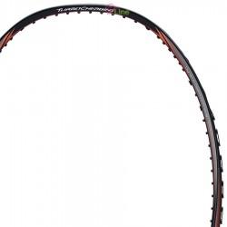 【LI-NING】能量Turbo Charging75C黑紅 3U力量型重扣羽球拍
