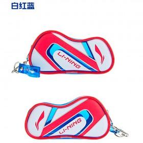 【LI-NING】ABSP258-3紅藍 球拍袋造型可愛零錢包