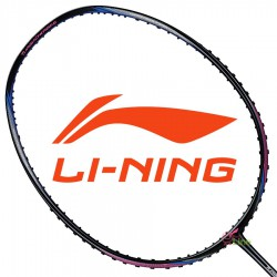 【LI-NING】能量Turbo Charging10C黑紅 3U中管偏軟力量型羽球拍