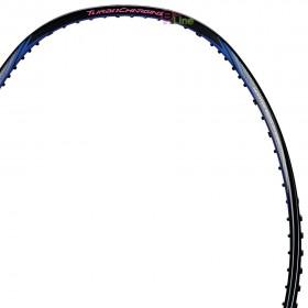 【LI-NING】能量10C黑紅 3U中管偏軟30磅力量型羽球拍
