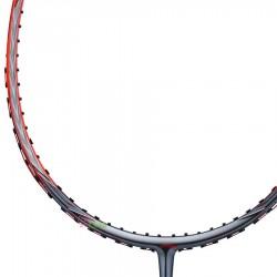 【LI-NING】風刃3D CALIBAR 600B紅灰 3U中管偏軟均衡型羽球拍