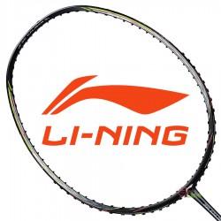 【LI-NING】風刃3D CALIBAR 600I黑 5U中管偏軟輕量型羽球拍