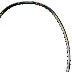 【LI-NING】風刃600I黑 5U中管偏軟輕量型羽球拍