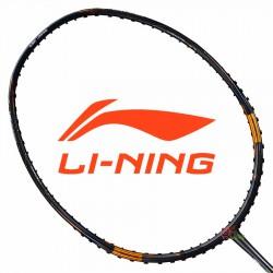 【LI-NING】Tectonic突襲7C黑金 彈性拍框科技3U強攻型羽球拍