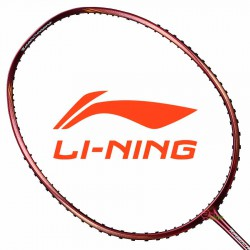 【LI-NING】Turbo Charging80酒紅 4U爆發型攻擊羽球拍