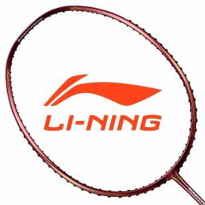 【LI-NING】Turbo Charging80酒紅 4U爆發型攻擊羽球拍