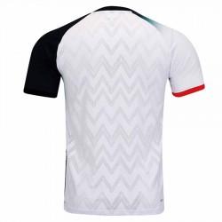 【LI-NING】AAYR195-3白黑 超輕不對稱緹花男款比賽服