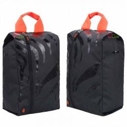 【LI-NING】ABJN028-2黑橙 李寧折疊式鞋袋