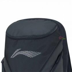【LI-NING】大容量6-8支拍直筒後背包ABJP072-1黑
