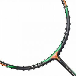 【LI-NING】Aeronaut 6000D黑綠3U風洞速度型羽球拍