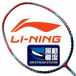 【LI-NING】Aeronaut 6000紅藍3U風洞均衡型羽球拍