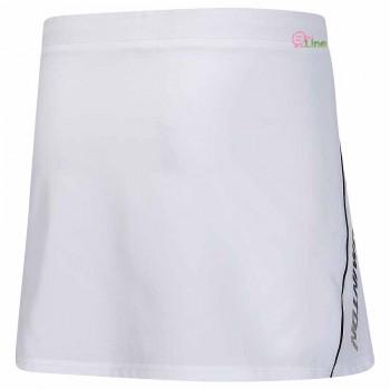【LI-NING】ASKR012-2白 幻彩字母梭織A字褲裙