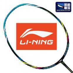 【LI-NING】Air S-50TD藍重量輕低風阻風洞羽球拍