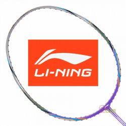 【LI-NING】HC-1900紫 3U軟中管好操控羽球拍