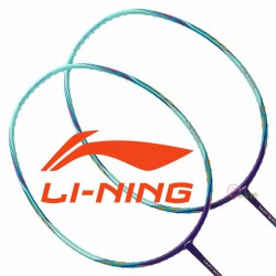 【LI-NING】WS-500藍青 超輕量5U快速攻擊羽球拍