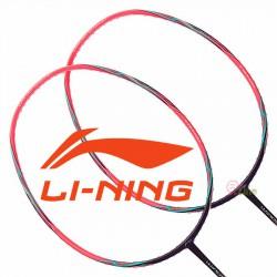 【LI-NING】WS-500紫粉 超輕量5U快速攻擊羽球拍
