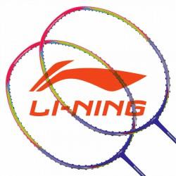 【LI-NING】TC-N7II幻彩紫 提升球速適合大力扣殺羽球拍