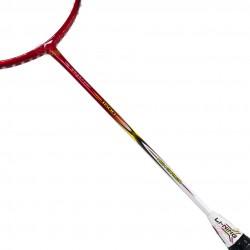 【LI-NING】HC1600紅 4U高鋼碳纖入門級羽球拍