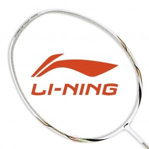 【LI-NING】UC-9000白專業羽球拍