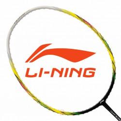 【LI-NING】WS-500黑黃 超輕量5U快速攻擊羽球拍