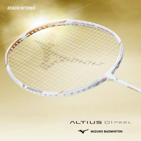 【MIZUNO】ALTIUS 01 FEEL奧原希望使用型日本UNISYS羽球拍(JP版)
