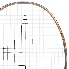 【MIZUNO】JPX 8 POWER白銀橘 低空阻六角拍框4U5中高階通用型羽球拍
