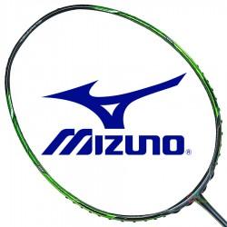 【MIZUNO】XYST-02銀灰/綠3U5專利T頭手感直接攻擊型羽球拍
