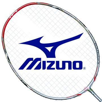 【MIZUNO】ZEPHYR ZR銀紅 細中管5U5高速殺球通用型羽球拍