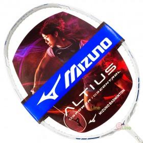 【MIZUNO】ALTIUS 03 CONTROL白銀藍 4U5硬中管32磅通用型羽球拍