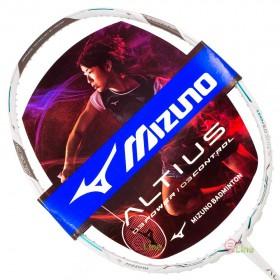 【MIZUNO】ALTIUS 03 POWER白銀綠 4U5硬中管32磅攻擊型羽球拍